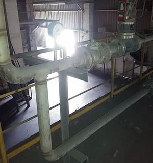 中玻富氧管道设备安装