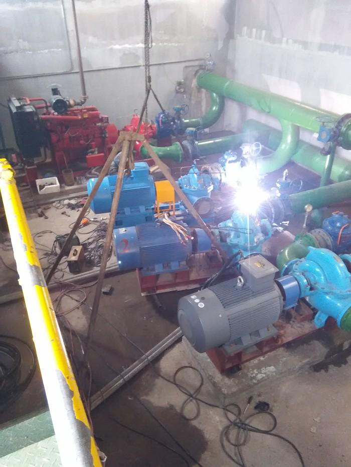 水泵房设备安装